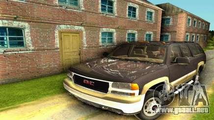 GMC Yukon XL 2003 para GTA San Andreas