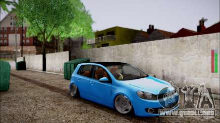 Volkswagen mk6 Stance Work para GTA San Andreas