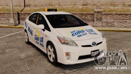 Toyota Prius 2011 Warsaw Taxi v2 para GTA 4