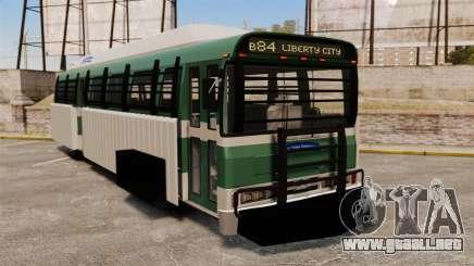Autobús blindado para GTA 4