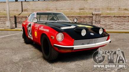 Datsun 240Z 1971 East African Safari para GTA 4