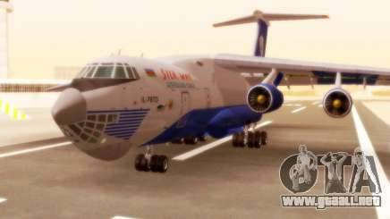 Il-76td Silk Way para GTA San Andreas
