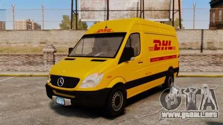 Mercedes-Benz Sprinter 2500 Delivery Van 2011 para GTA 4