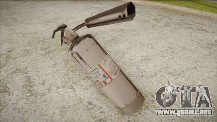 Nuevo extintor para GTA San Andreas