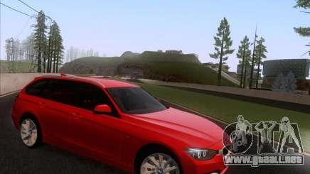 BMW 3 Touring F31 2013 para GTA San Andreas