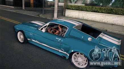 Shelby GT500 E v2.0 para GTA San Andreas