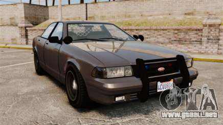 GTA V Unmarked Cruiser Police para GTA 4
