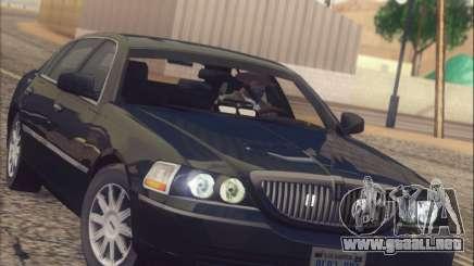 Lincoln Town Car 2010 para GTA San Andreas