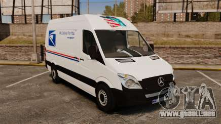 Mercedes-Benz Sprinter US Mail para GTA 4