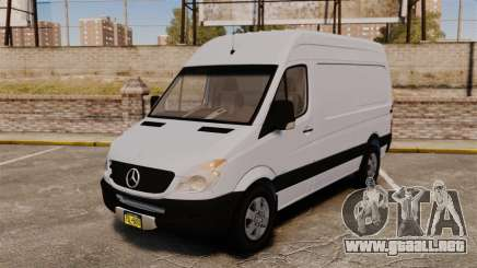 Mercedes-Benz Sprinter 2500 2011 v1.4 para GTA 4