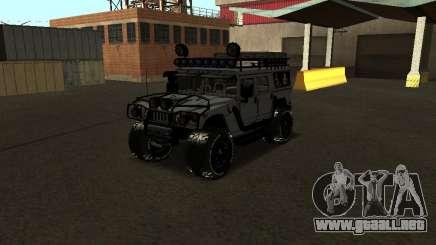 Hummer H1 Offroad para GTA San Andreas