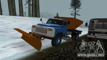 53 GAS soplador de nieve para GTA San Andreas