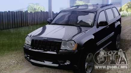 Jeep Cherokee SRT8 para GTA San Andreas