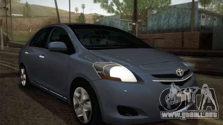 Toyota Vios 2008 para GTA San Andreas