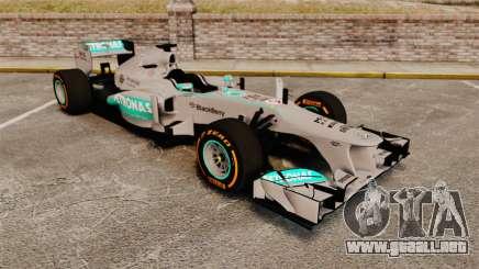 Mercedes AMG F1 W04 v3 para GTA 4