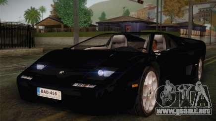 Lamborghini Diablo VT6.0 para GTA San Andreas