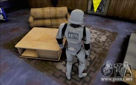 Stormtrooper de Star Wars para GTA San Andreas tercera pantalla
