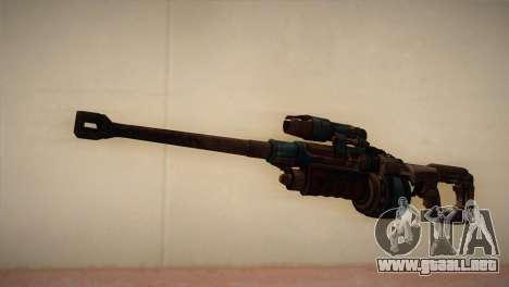Rifle de francotirador de Bulletstorm para GTA San Andreas