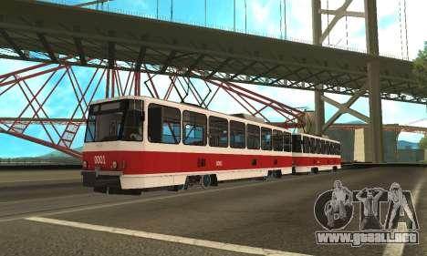 Tatra T6B5 para GTA San Andreas left