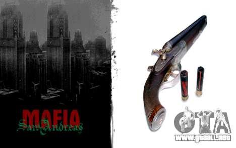Pantalla de arranque de estilo mafioso para GTA San Andreas tercera pantalla