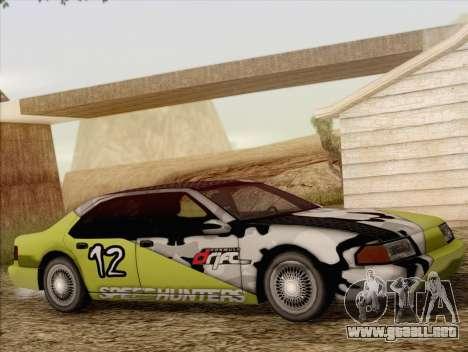 Fortune Sedan para vista lateral GTA San Andreas