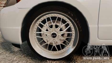 Honda Civic Si v2.0 para GTA 4 vista hacia atrás