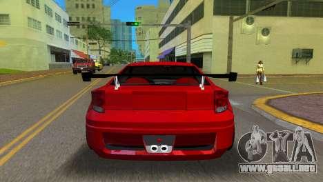 Toyota Celica XTC para GTA Vice City vista lateral izquierdo