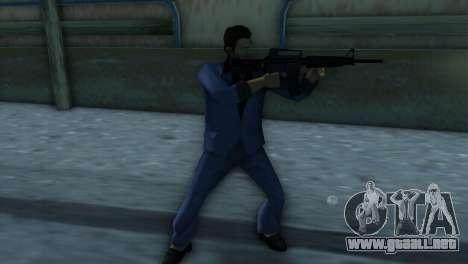 M4 de la versión XBOX para GTA Vice City segunda pantalla