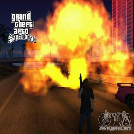 Nuevas pantallas de carga para GTA San Andreas sexta pantalla