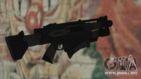 Rifle de Timeshift para GTA San Andreas segunda pantalla