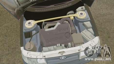 VAZ-2110 para GTA 4 vista hacia atrás
