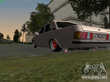 GAZ 3102 postura para la visión correcta GTA San Andreas