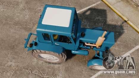 Tractor MTZ-80 para GTA 4 visión correcta
