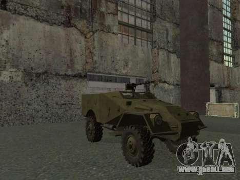 BTR-40 para la vista superior GTA San Andreas