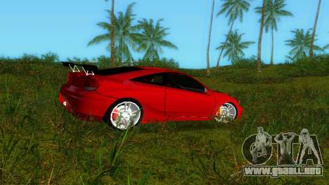 Toyota Celica XTC para GTA Vice City left