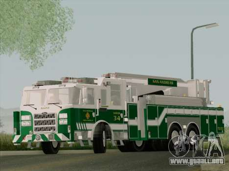 Pierce Arrow Midmount Aerialscope SAFR Tower 34 para visión interna GTA San Andreas