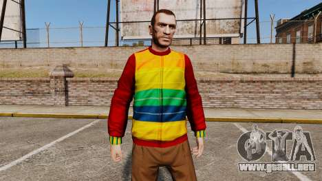 Suéter de Playboy para GTA 4