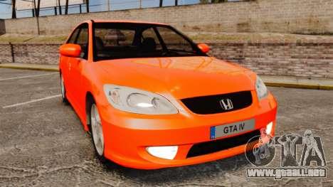 Honda Civic VTEC para GTA 4