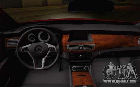 Mercedes-Benz CLS 63 AMG 2012 Fixed para las ruedas de GTA San Andreas