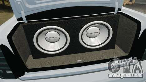 Vaz-2170 Lada Priora Turbo para GTA 4 vista lateral