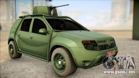 Dacia Duster Army Skin 1 para GTA San Andreas