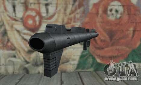 Lanzador de misiles de Star Wars para GTA San Andreas segunda pantalla