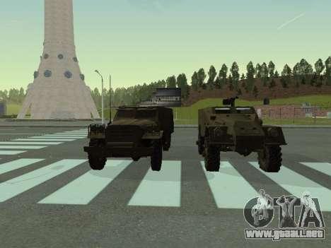 BTR-40 para GTA San Andreas interior