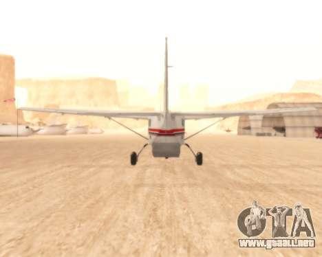 Cessna 208B Grand Caravan para la visión correcta GTA San Andreas
