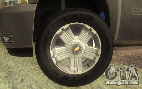 Chevrolet Cheyenne LT 2012 para la visión correcta GTA San Andreas