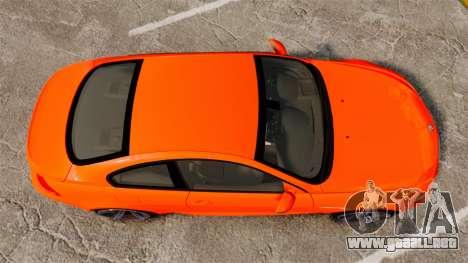 BMW M6 para GTA 4 visión correcta