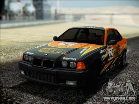 BMW M3 E36 para las ruedas de GTA San Andreas