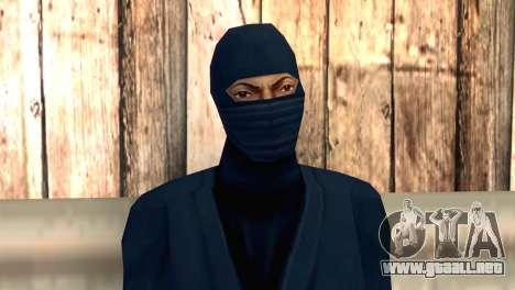 Ninja para GTA San Andreas tercera pantalla