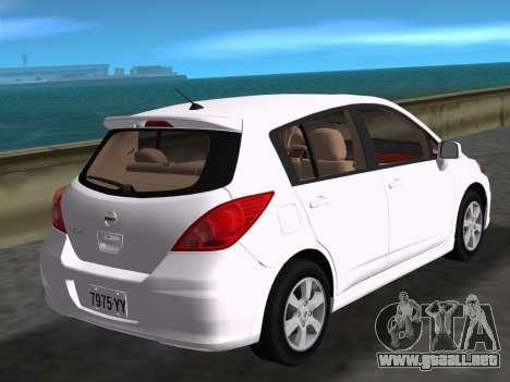 Nissan Tiida para GTA Vice City left