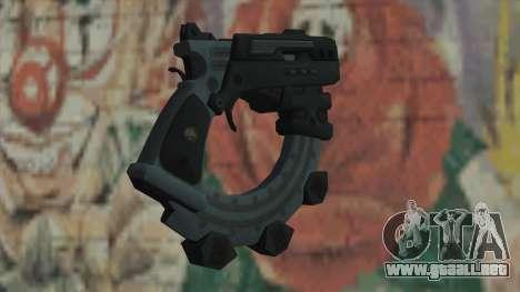 El arma de Timeshift para GTA San Andreas segunda pantalla